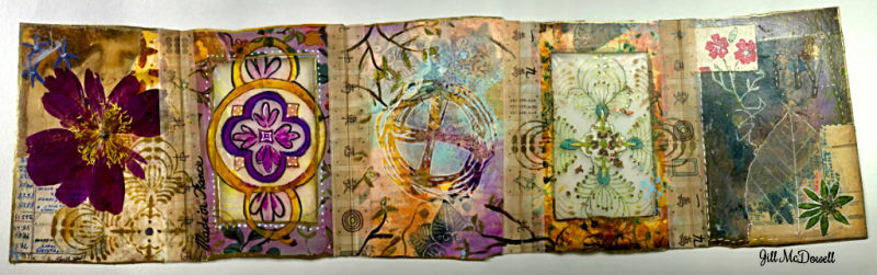 Translucent Art Journal Side 2