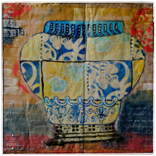 Jill-mcdowell-jardinier-stencil-altered-book-page